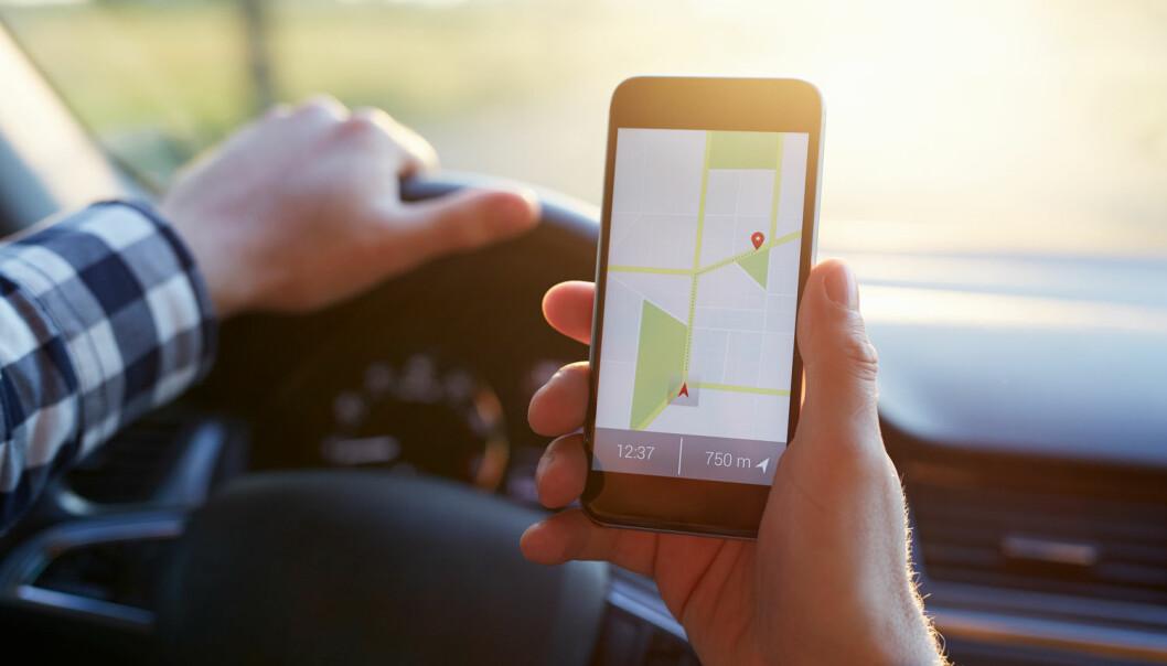 GPS blir brukt i nesten alle sammenhenger som handler om frakt, transport og reise. (Foto: Shutterstock / NTB scanpix)