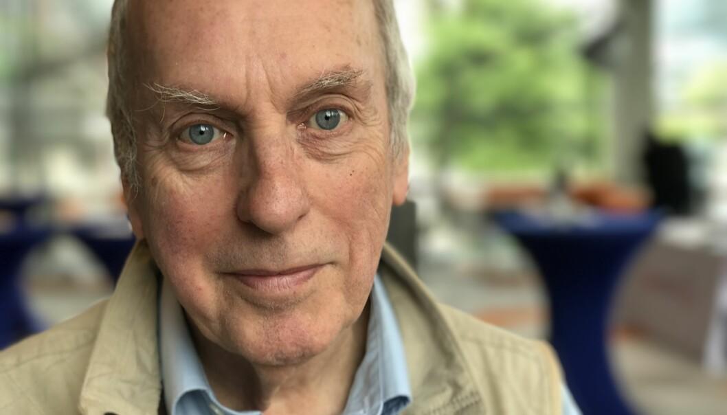Forsker Iain Chalmers er lei av at medisinske etiske komiteer ikke drar sin del av lasset med å kvalitetssikre medisinsk forskning.  (Foto: Ida Irene Bergstrøm)