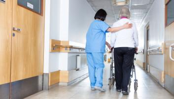 – Vi må huske på at alle mennesker har et grunnleggende behov for bevegelse, også demensrammede, sier forsker. (Illustrasjonsfoto: Shutterstock / NTB Scanpix)