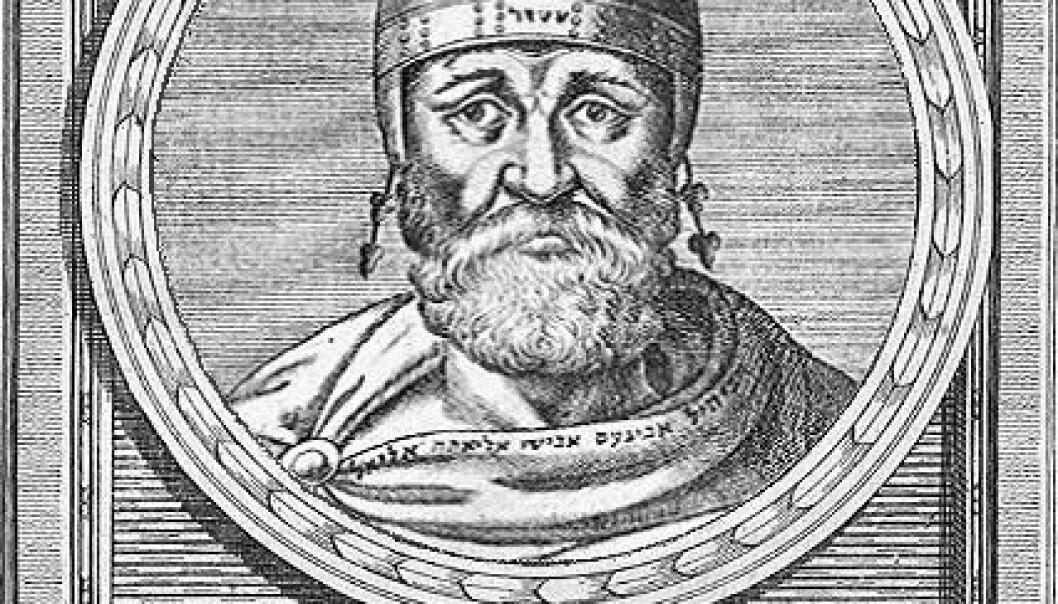 Filon frå Alexandria levde frå 20 f.Kr. – 50 e.Kr. (Kjelde: Wikimedia commons)