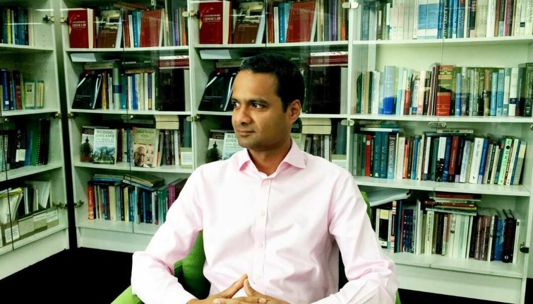 Tarunabh Khaitan forsker på blant annet likestilling fra et juridisk perspektiv. Han ønsker at flere minoritetsgrupper i India skal ta jusutdanning. - Det kan være ekstermt myndiggjørende.