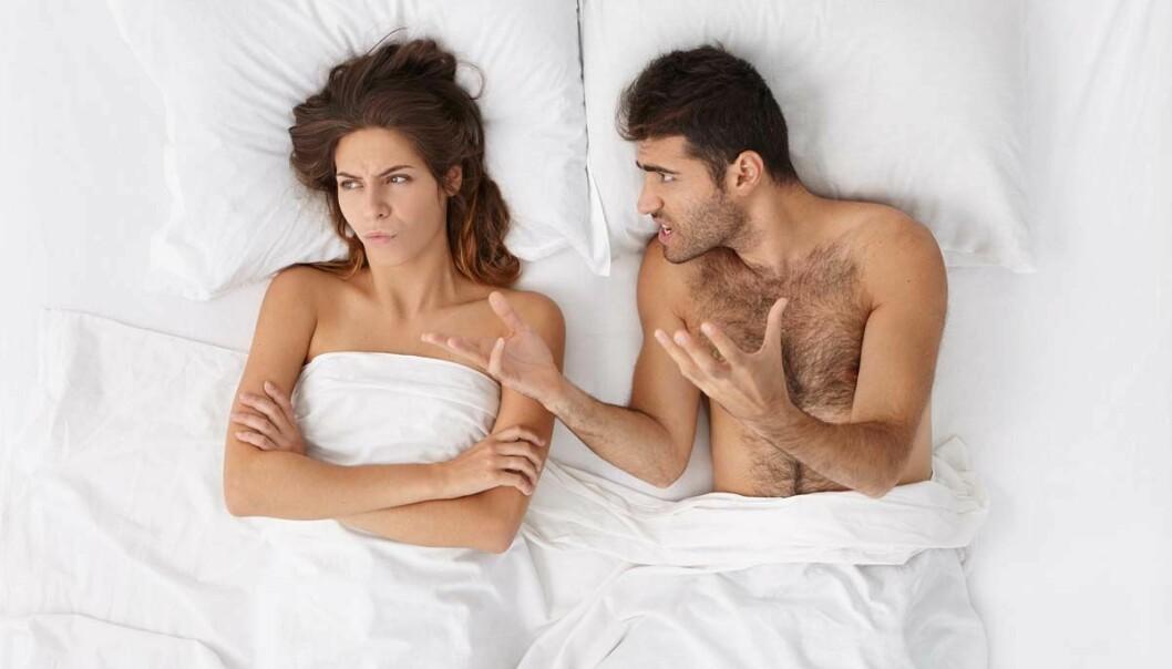 De har sex, noen ganger uten at sengepartneren vil, og de husker ingen ting morgenen etterpå. Nå forsker mange på sexsomni, men foreløpig er det mye kunnskap som mangler. (Illustrasjonsfoto: Shutterstock)