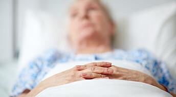 Hvordan skal vi pleie døende personer med demens?