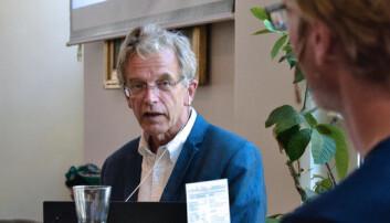 Stein Tønnesson, forskar og tidlegare direktør ved PRIO, fortalde om mareritt etter å ha sett videoar frå kampane i Myanmar. (Foto: Elise Løvereide)