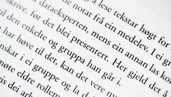 NTNU-professoren og lingvisten Terje Lohndal forteller at grammatisk hunkjønn rett og slett kan være i ferd med å dø ut i mange norske dialekter. (Foto: Kent Skibstad / NTB scanpix)