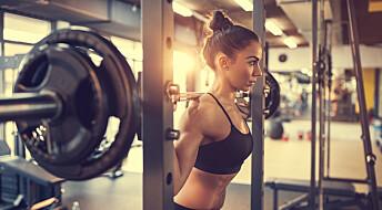 Styrketrening hjelper mot depresjon