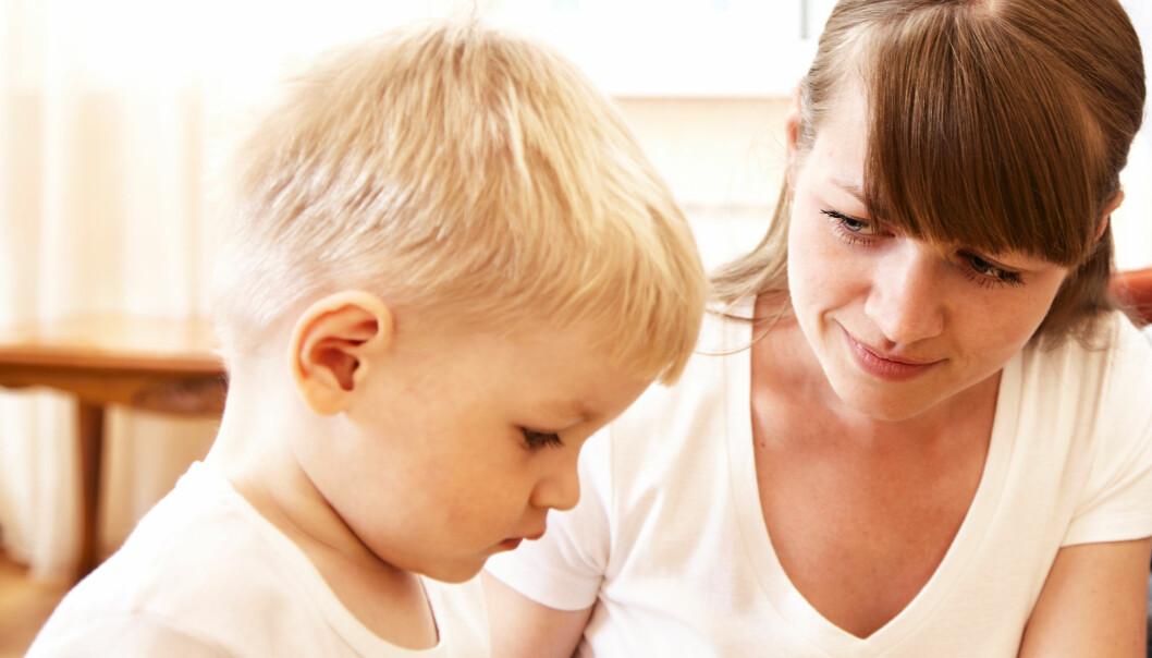 De fleste som stammer begynner når de er mellom to og fire år, men mange slutter før de begynner på skolen. (Foto: Marina Dyakonova / Shutterstock / NTB scanpix)