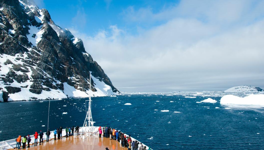 Krilltokt i Antarktis er et av de marine forskningsprosjektene som regjeringen går inn for å finansiere. I statsbudsjettet er 11 millioner satt av til dette.  (Foto: Shutterstock)