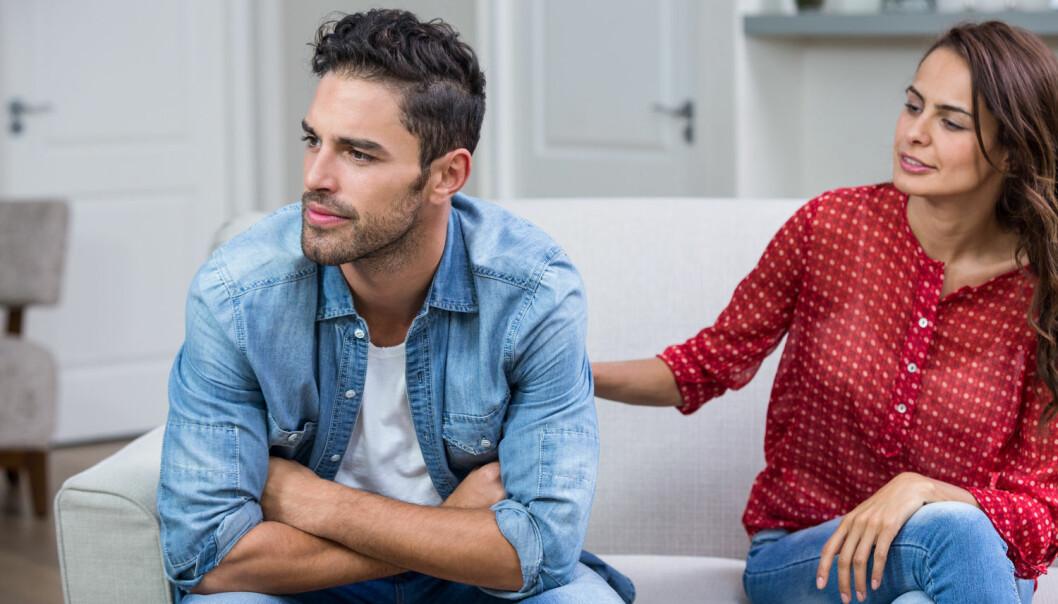 Å få tilgivelse for utroskap er slett ikke enkelt. Men mange som likevel får tilgivelse mistolker signalene og tror ikke de er tilgitt likevel.  (Foto: Shutterstock / NTB scanpix)