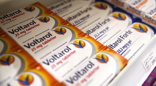 Danske forskere advarer mot Voltarol og Voltaren