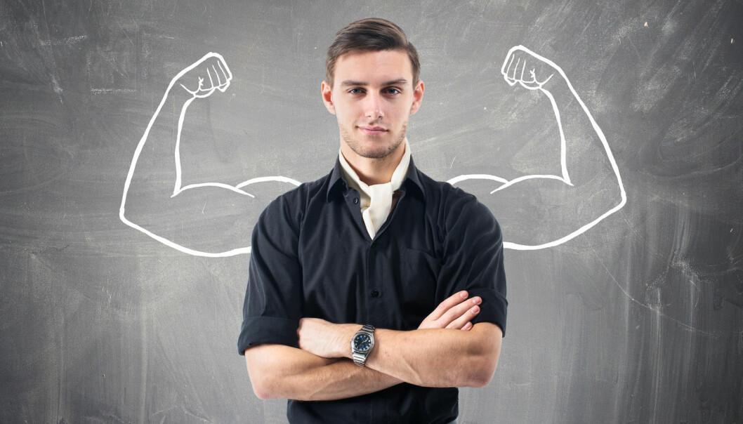 I en test svarte testosteronpåvirkede menn oftere og raskere feil.  (Foto: Undrey / Shutterstock / NTB scanpix)