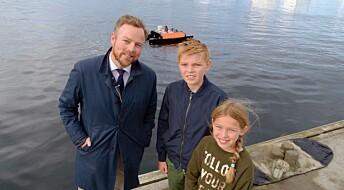 Tester førerløse båter i Trondheimsfjorden: – Vi kan stå for mer ny utvikling, ellers kommer andre og gjør det