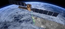 Miljøsatellitter ser inn i orkanens øye