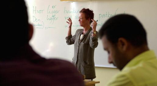 Forskar vil ha meir dialekt i norskopplæringa