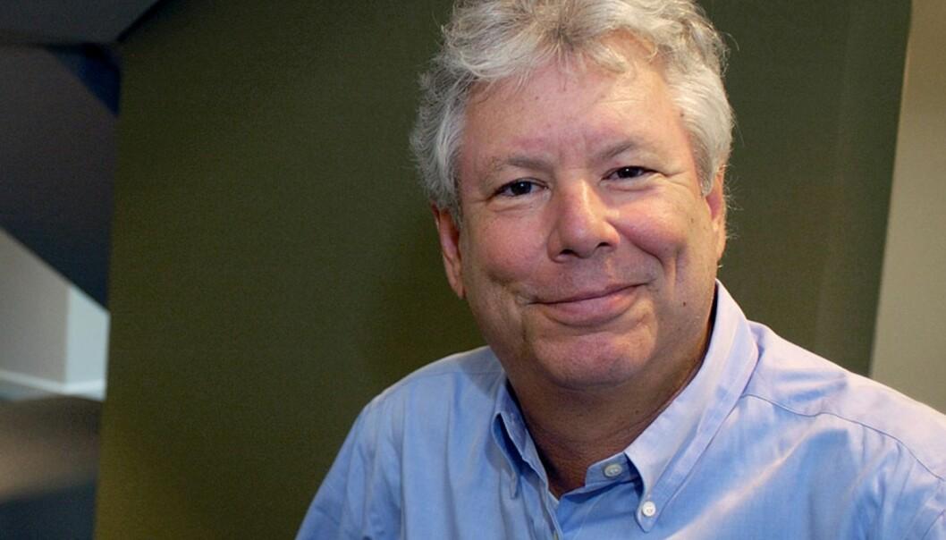 Thaler er forsker ved University of Chicago og omtales som en pioner i feltet som gjerne kalles atferdsøkonomi. (Foto: Reuters /NTB scanpix)