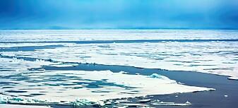 – Nei, isarealet ved Nordpolen er ikke tilbake på 1979-nivå