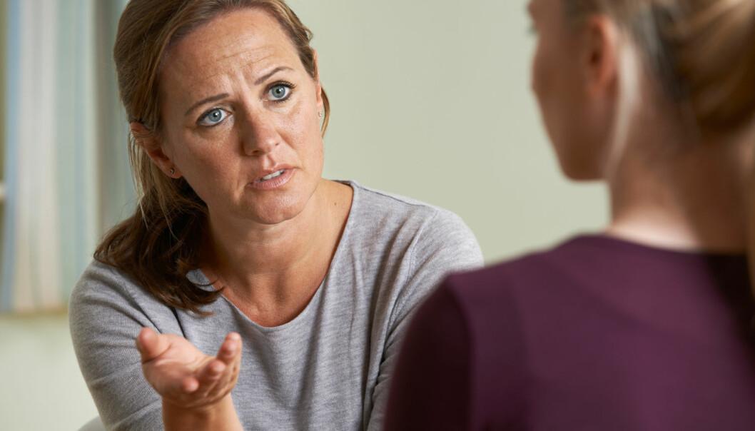 De negative reaksjonene kom særlig fra foreldrene, som ofte fikk vite om overgrepet først. (Illustrasjonsfoto: Shutterstock/NTB scanpix)