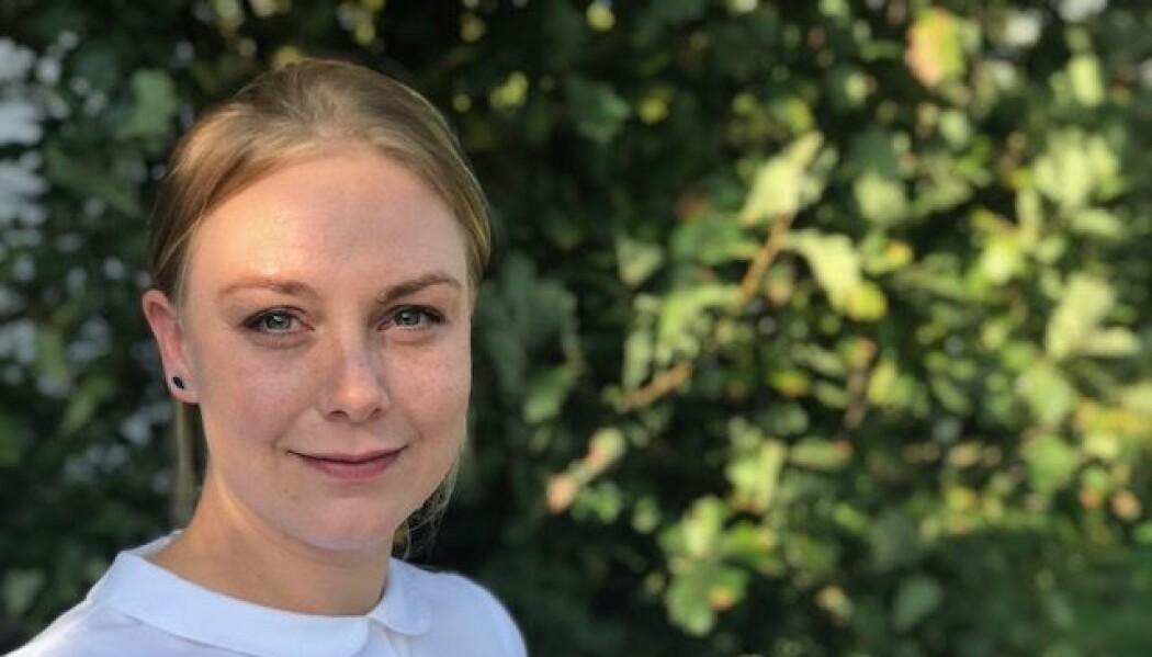 – Jeg møtte menn som var høflige og imøtekommende og opptatt av gjensidig respekt, sier masterstudent Siri Høyem Kristiansen om fremmedkrigerne hun har møtt i norske fengsler. (Foto: Siw Ellen Jakobsen)