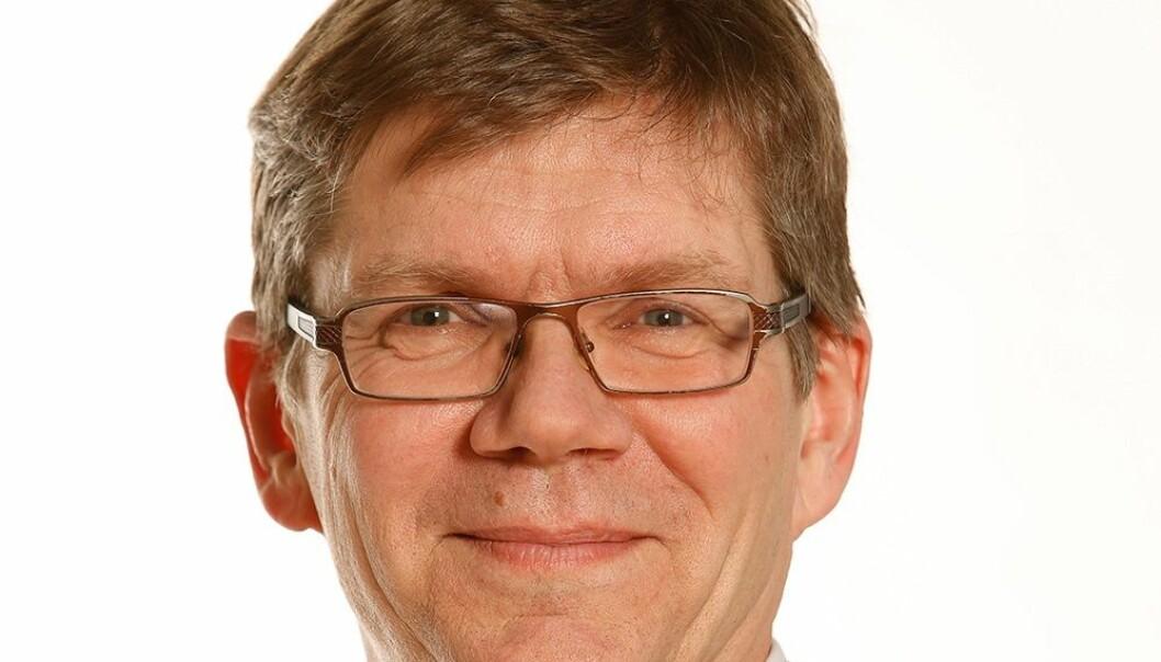 UiO-rektor Svein Stølen mener innføring av et institusjonelt nikab-forbud er et for sterkt virkemiddel. (Foto: UiO)