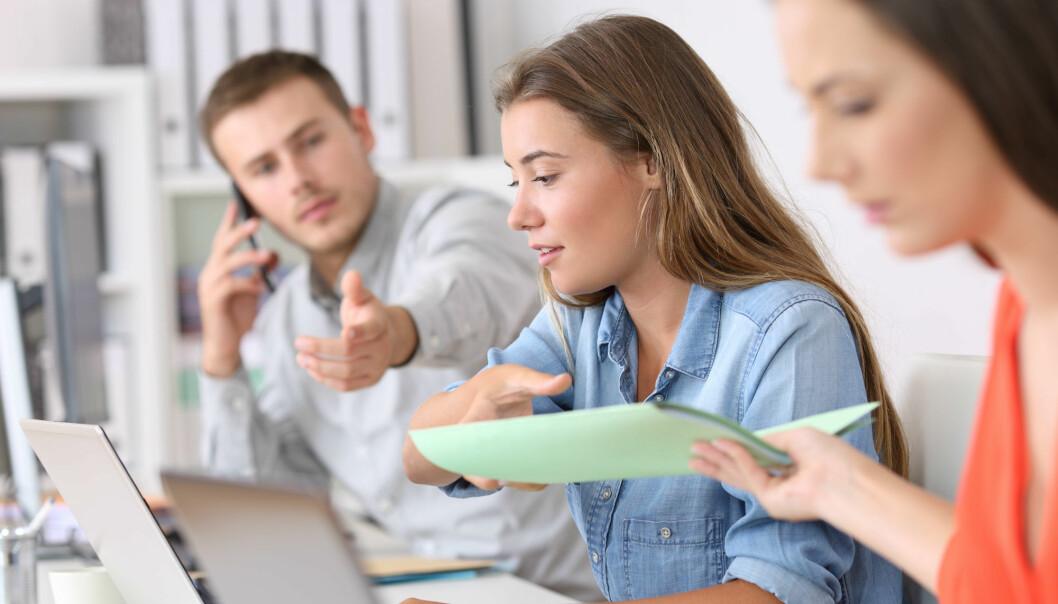 For de aller fleste jobber representerer ikke bonuser en halvgod motivasjonsform. Det er snarere en halvdårlig motivasjonsform, mener forsker. Han synes det er vanskelig å forstå hvorfor mange organisasjoner fortsatt bruker denne formen for motivasjon.  (Illustrasjonsfoto: Colourbox)
