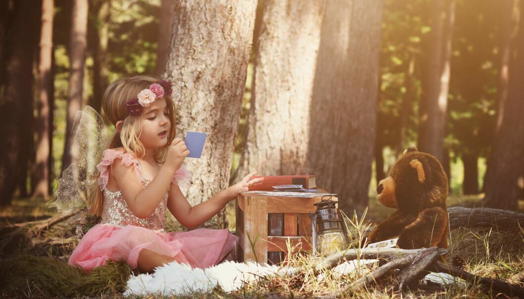 Mange barn oppfatter fantasien som like viktig som virkeligheten, sier Thomas Gitz-Johansen. (Foto: Haywiremedia / Shutterstock / NTB scanpix)