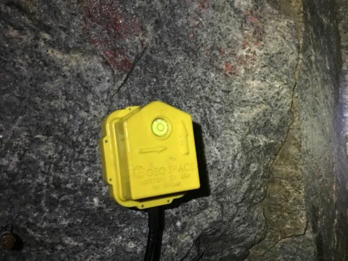 A seismometer (Foto: Valentin Amauger)