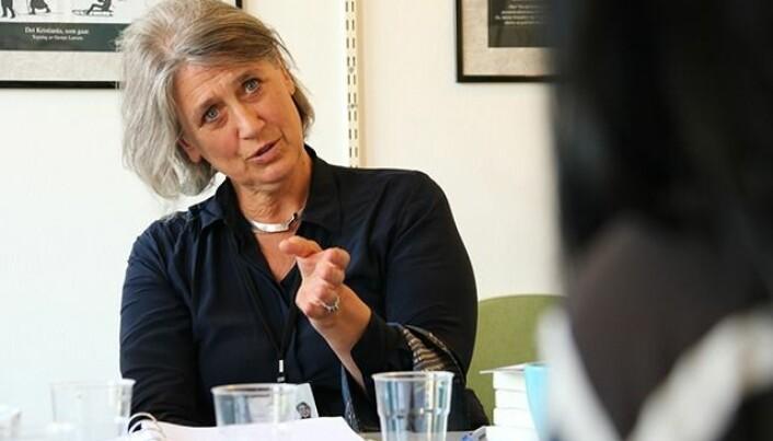 Seniorrådgiver i Utenriksdepartementet, Signe Ihlen Tønsberg, har fulgt arbeidet tett og har vært med på mange av samlingene de siste årene. (Foto: Fillip-André Baarøy)
