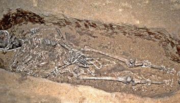 Hvordan vet vi når denne mannen ble begravet?