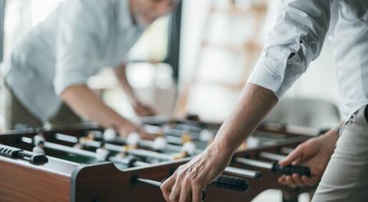 Moro og lek på kontoret har lite å si for ansattes kreativitet