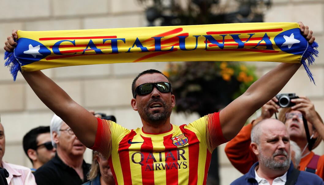 Spania-kjenner har liten tro på katalansk løsrivelse