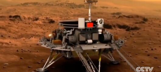 Kinas første Mars-sonde