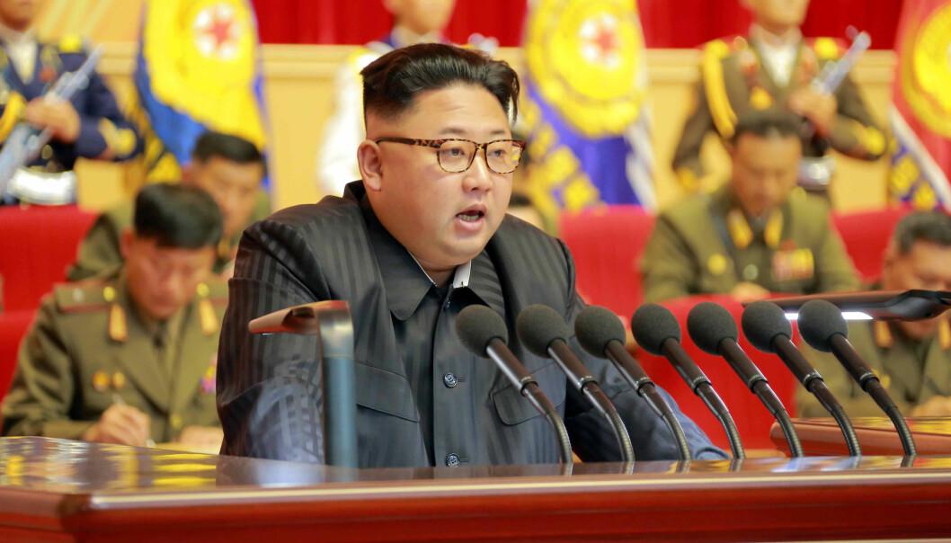 Nord-Koreas diktator Kim Jong-un. (Foto: KCNA, Reuters, NTB scanpix)