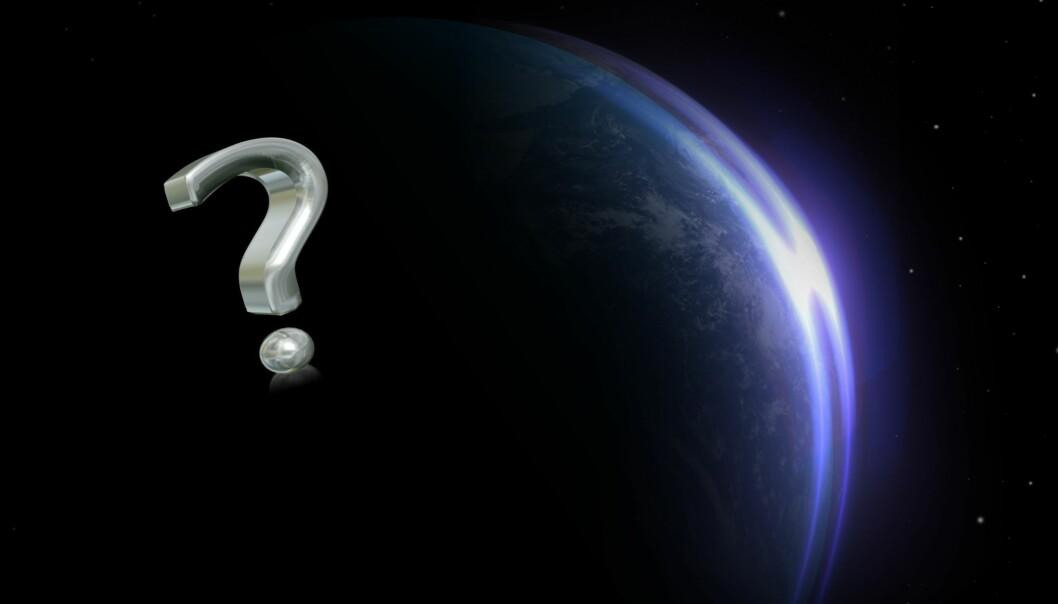 Det hadde uten tvil vært mørkere om natta uten en måne. Men hva annet hadde vært annerledes? (Illustrasjon: Colourbox/forskning.no-montasje)