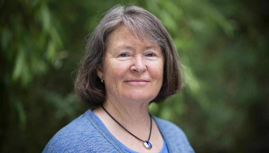 Heidi Bjørge har sett på pårørendes følelser og hvordan de opplever situasjonen i familien. – De må få hjelp til å snakke om problemer de måtte ha og forventninger til hverandre etter hvert som sykdommen blir verre, sier hun. (Foto: Sonja Balci)