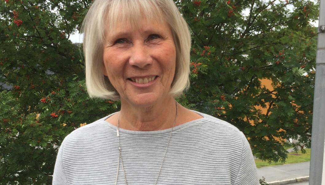 Ruth H. Olsen har vært en av de sentrale akademikerne i å utvikle grunnlaget for doktorgraden i studier av profesjonspraksis ved universitetet. (Foto: Knut Olsen)