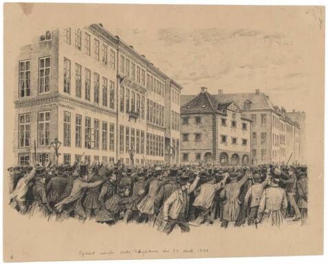 62714b46 Begivenhetene opp til det som ledet til et konstitusjonelt monarki, er også  kjent som Marsrevolusjonen