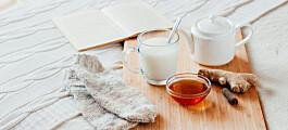 Gjør varm melk med honning at du sover bedre?