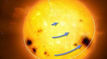 13 stjerner kaster lys over solens merkelige rotasjon