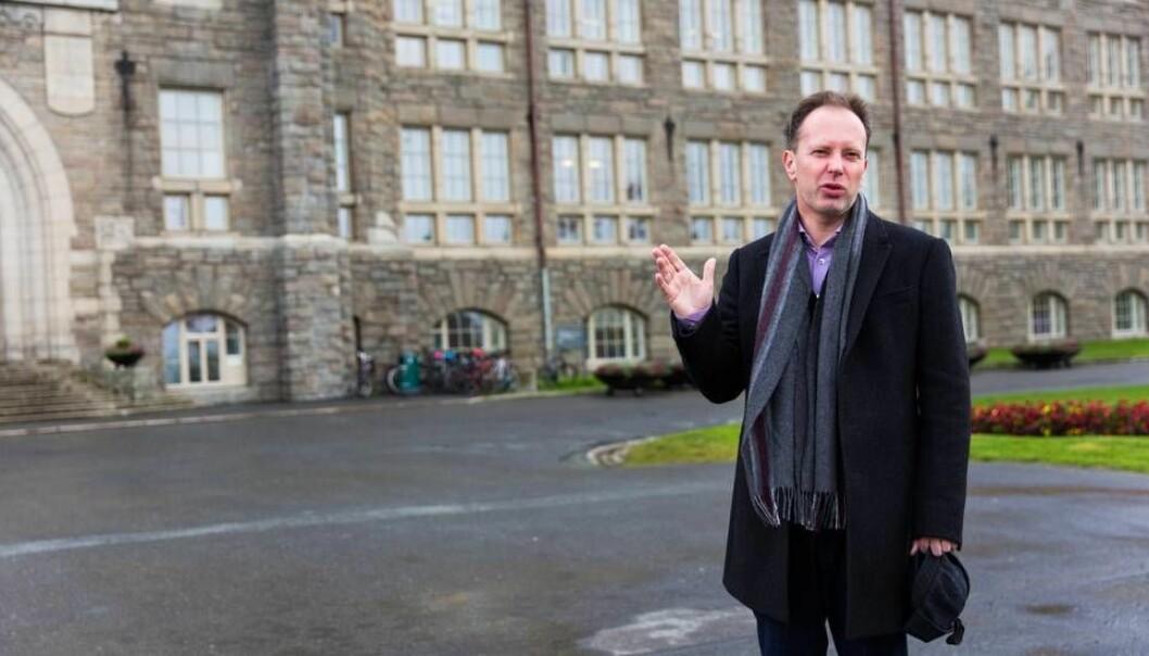 - Hele instituttets omdømme blitt skadet, skrev instituttleder Riina Kiik til Øyvind Eikrem etter at han lot seg intervjue av Resett. Eikrem er nå sykemeldt. (Foto: Espen Halvorsen Bjørgan / Universitetsavisa)