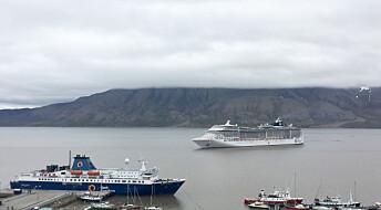 I august ble folketallet på Svalbard dobbelt så stort