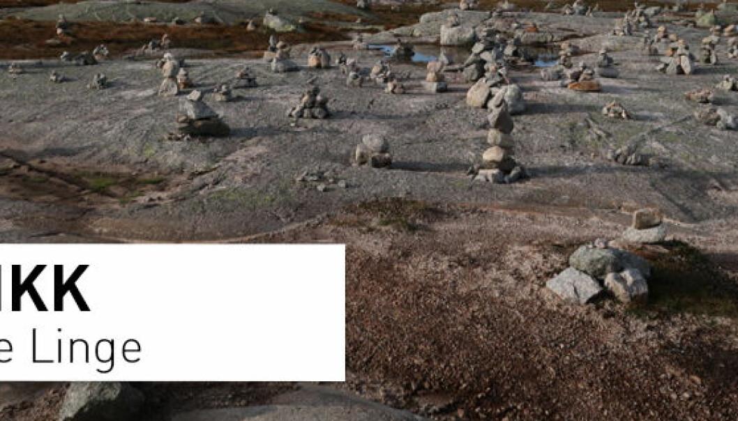 Steinen har ligget her i 12.000 år. La den ligge i fred!