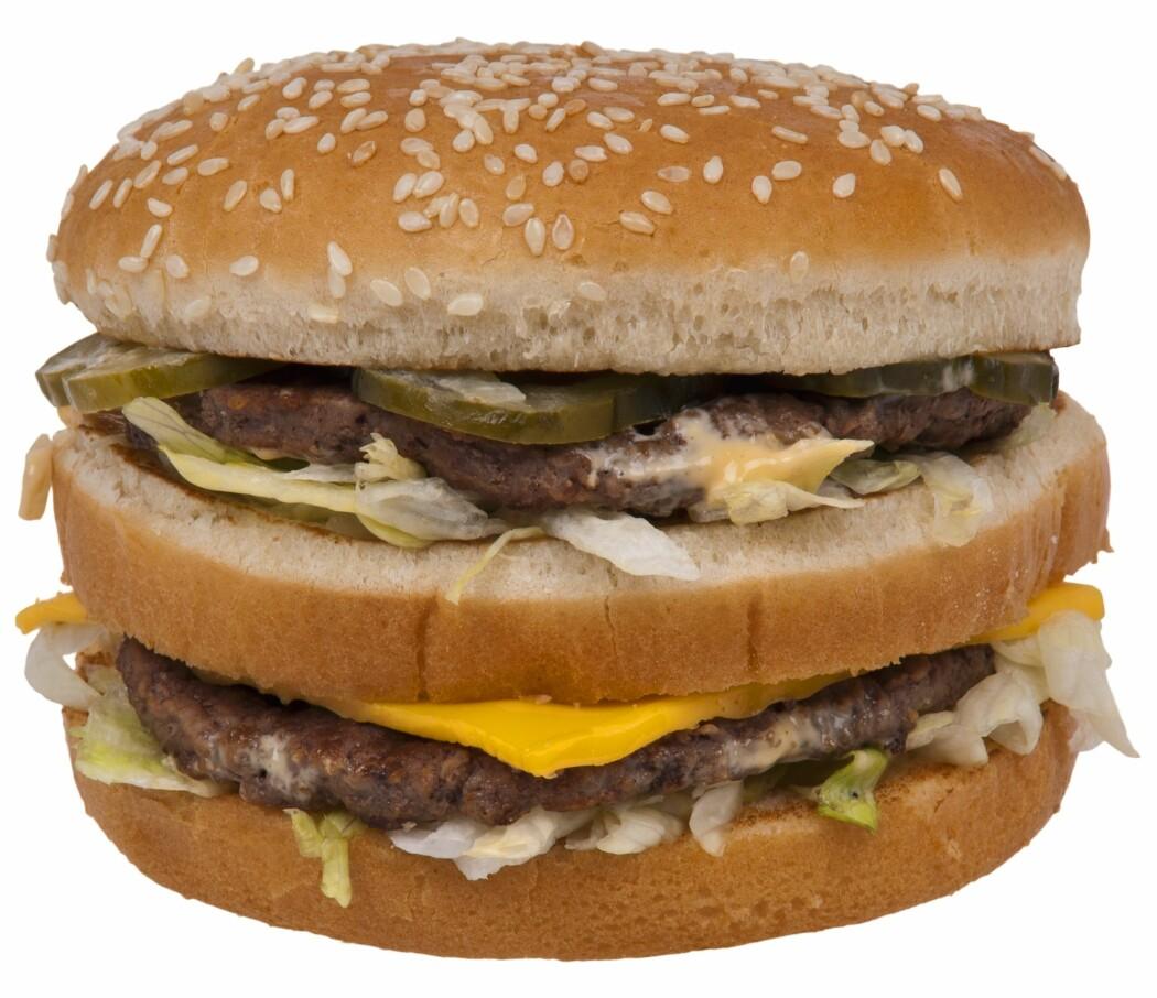 Hamburgere kan brukes til så mangt…? (Foto: Evan-Amos, Creative Commons, CC0 1.0)