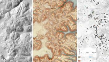 Titusenvis av strukturer fra Maya-tiden har blitt funnet dypt inne i regnskogen