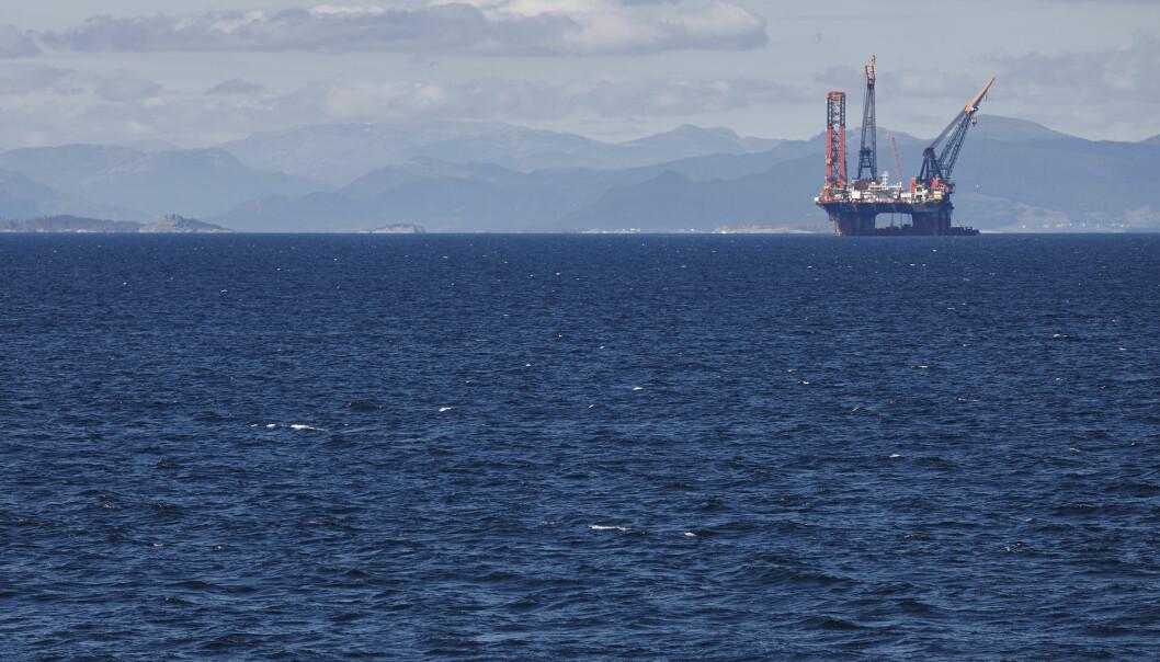 En fabrikk i Fredrikstad har utviklet nye kjemikalier som kan hjelpe oljeselskaper å få opp mer olje fra modne felt i Nordsjøen. (Foto: Unger Fabrikker AS)  (Illustrasjonsfoto: ABB Photo / Shutterstock / NTB scanpix)