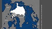 NASA: Havisen i Arktis er på sin laveste utbredelse i år