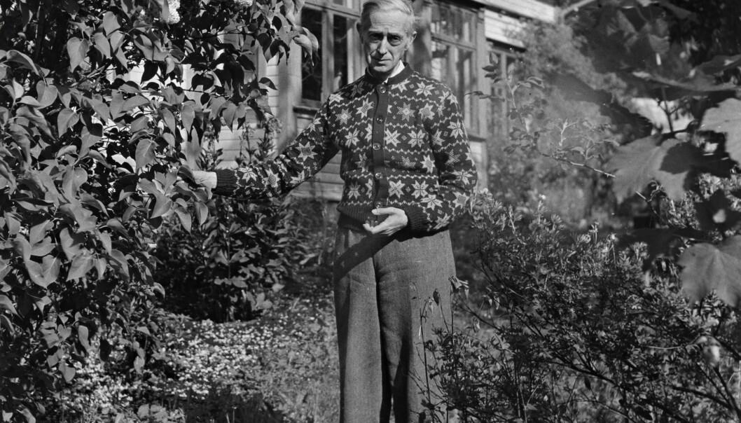 Fartein Valen (1887–1952) var en av Norges fremste komponister. Han er kjent for sitt atonale tonespråk. (Foto: Nasjonalbiblioteket)