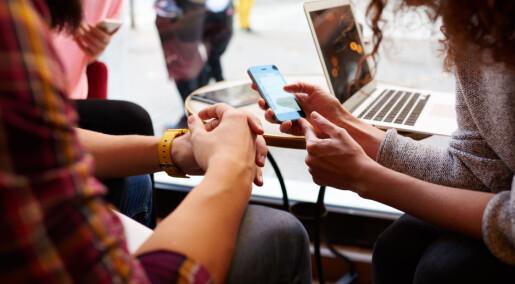 Fem år av livet på sosiale medier