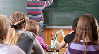 Lærerstudenter må være trygge på egne matteferdigheter