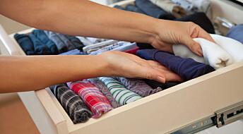 Miljøgifter setter seg i klærne