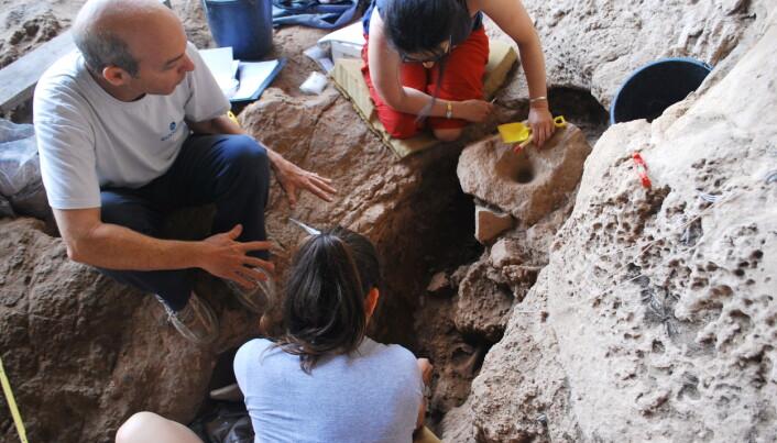 Eldgamle spor tyder på ølbryggende steinaldermennesker